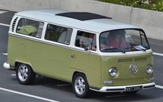 VW T2 on the road