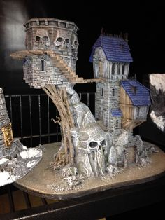 Chaos sorcerers tower - fantasy