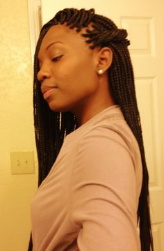 BRAIDS / BOX BRAIDS / PROTECTIVE HAIRSTYLE / POETIC JUSTIC BRAIDS / DOOKIE BRAIDS / SYNTHETIC HAIRSTYLE
