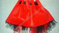 Cómo hacer un disfraz de caperucita. Parte 1: la falda ~ Aprendiendo con Julia http://aprendiendoconjulia.blogspot.com.es/2015/01/como-hace-un-disfraz-de-caperucita.html
