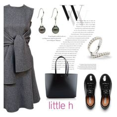 """Casual chic by Little h Jewelry"" by littlehjewelry ❤ liked on Polyvore featuring Balenciaga, Acne Studios and Yves Saint Laurent"