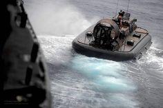 Royal Marine LCAC Hovercraft