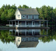 Little Lake Sunapee New London New Hampshire by kfreeston, via Flickr