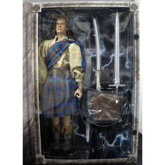 Christopher Lambert Signed Highlander Conner MacLeod 12 Inch Action Figure