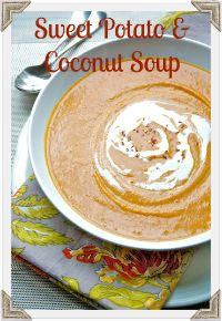 The Professional Palate - The Professional Palate Blog - roasted sweet potato and coconut soup