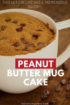 Best Mug Cake Recipes, Mug Dessert Recipes, Mug Recipes, Keto Dessert Easy, Keto Recipes, Diabetic Desserts, Low Carb Desserts, Healthy Desserts, Healthy Foods