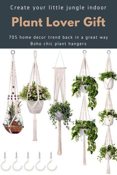 This item is unavailable Macrame Indoor Planters / Hanging Plant Holders / Plant Metal Plant Hangers, Rope Plant Hanger, Hanging Plant Wall, Macrame Hanging Planter, Macrame Plant Holder, Macrame Plant Hangers, Plant Holders, Big Indoor Plants, Indoor Planters