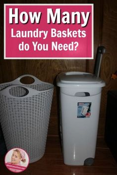 How many laundry baskets do you need? At a Slobcomesclean.