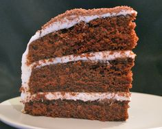 Three Layer Chocolate Cake with Buttercream Frosting (Sweet Surrender Matterhorn Cake…Maybe) - Savory Experiments