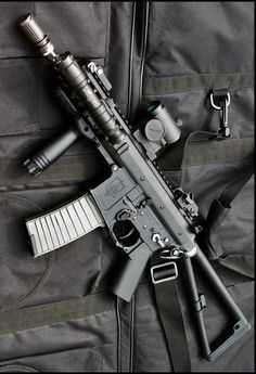 Knights Armament KA PDW rifle