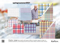 Shirting Colour and Fabric Trend Spring/Summer 2021 Spring Summer, Summer Men, Spring Shirts, Color Trends, Fall Winter, Trend Analysis, Fabric, Boards, Collections