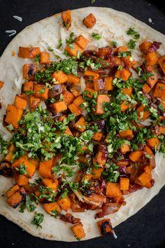 Chipotle Sweet Potato Quesadillas