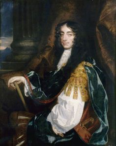Charles II (1630–1685) by Jacob Huysman