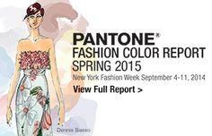 Spring 2015 Fashion Color Report
