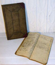 Old gas station journals