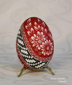 Polish Easter Egg - kraszanka/pisanka (stratched egg)
