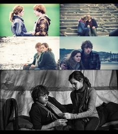 Ron and Hermione. My favorite love story.
