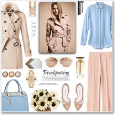 Pastel Trench Coats