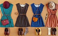 Dresses galore