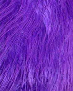 Purple Shaggy Mongolian Faux Fur