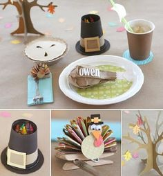 Thanksgiving Kid Table Ideas