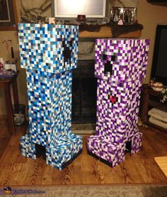 Elemental Creepers (Water and Friendly) - 2013 Halloween Costume Contest via @costumeworks
