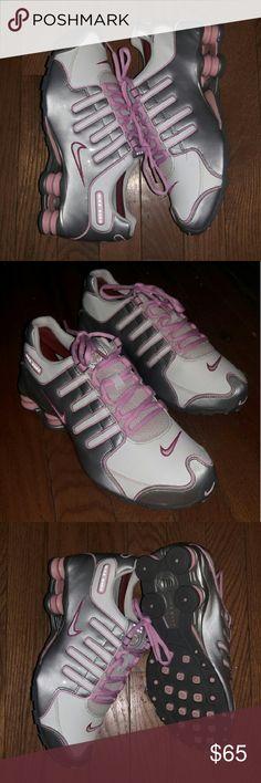 Nike Shox Turbo Silver Pink Black Women Shoes Sale: $79.59   S H O E S !!!!!!!!!    Pinterest   Nike shox, Shoe sale and Pink black