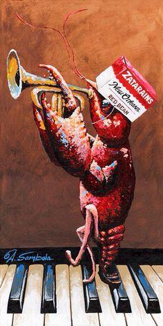 Adam Sambola, the creator of Louisiana Art, Louisiana Homes, New Orleans Louisiana, New Orleans Art, New Orleans Mardi Gras, Cajun French, Mardi Gras Decorations, La Art, Cajun Recipes