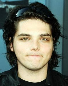 He always had the best eyebrows and hair.