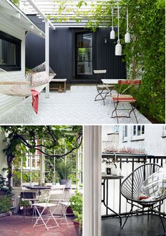 the bottom two....wish i could do that style in our backyard