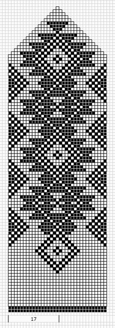 loom beadwork pattern - could be adapted for inkle loom Bead Loom Patterns, Weaving Patterns, Stitch Patterns, Knitting Charts, Knitting Patterns, Crochet Patterns, Mittens Pattern, Knit Mittens, Maori Patterns