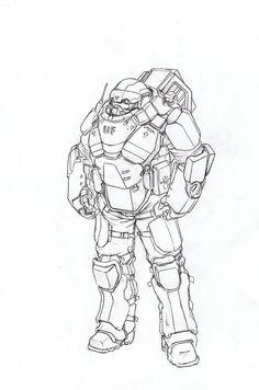 heavy infantry1 by TugoDoomER