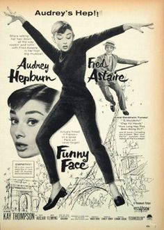 Funny Face (1957) - awesome poster.