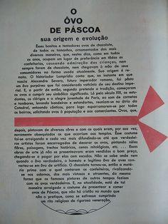 publicação de 64:  ovo de Pascoa sua origem