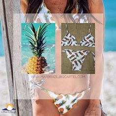 For the pineapple print lovers we have a good news, it's back in stock! Don't wait to get yours! Brazilian Swimwear, Pineapple Print, Shop Now, Lovers, News, Instagram Posts, Summer, Design, Summer Time