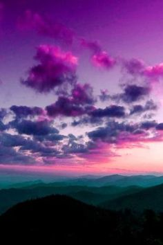 sky, purple, and clouds image Beautiful Sunset, Beautiful World, Beautiful Places, All Nature, Amazing Nature, Pretty Pictures, Cool Photos, Beautiful Sky Pictures, Belle Photo