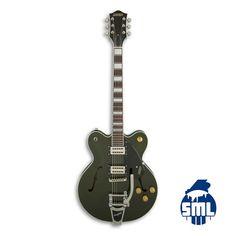 Guitarras elétricas Gretsch e outras marcas, encontra no Salão Musical de Lisboa - Instrumentos Musicais.