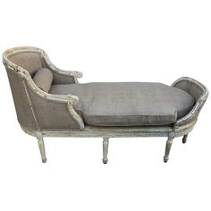 19th Century French Chaise Lounge