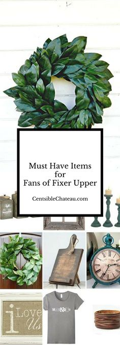 The shopping list all fans of Fixer Upper and Farmhouse Style decor need. Whether its a gift, or you're treating yourself, you'll want to check this list out.