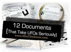UFOs are an authentic physical reality. That is not to say we know exactly what they are. But this post about the 12 documents that tell a compelling and true story simply is not to be missed. Written by top researcher Richard M. Dolan.