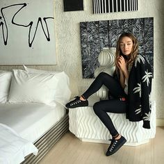 Where dreams are made. Desing Inspiration, Coco Fashion, Modern Condo, Interior Design Boards, Kelly Wearstler, Organic Modern, Personal Style, Leather Pants, Photoshoot