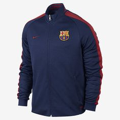 NIKE FC BARCELONA AUTHENTIC N98 TRACK JACKET 2015/16 Loyal Blue/Storm Red/Storm