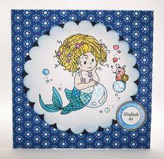 blog.karten-kunst.de - Kleine Meerjungfrau
