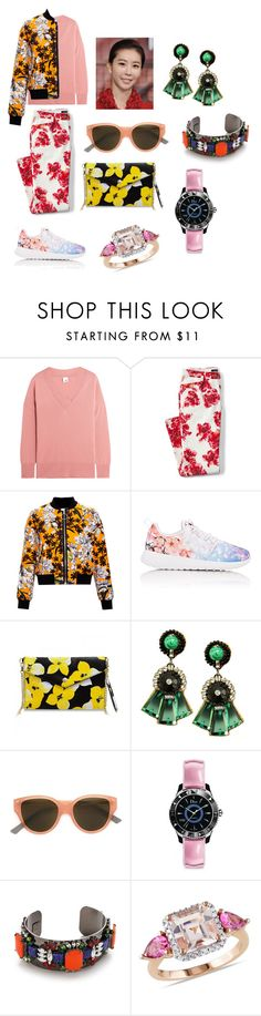 """""""184  ecology,casual style"""" by gangqin ❤ liked on Polyvore featuring Iris & Ink, Lands' End, MSGM, NIKE, Ranjana Khan, Very French Gangsters, Christian Dior, DANNIJO, Ice and plus size clothing"""