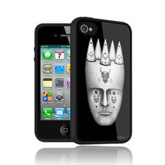 Clowns iPhone case by Lou Patrou