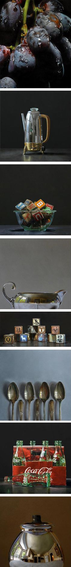 Hyperrealistic paintings by Neil Hollingsworth