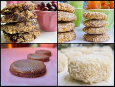 Four raw cookies from Tess Masters, The Blender Girl, to finish off Month O' Cookies (and start the new year off healthy) | Recipe Renovator | Gluten-free & vegan