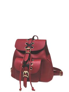 GET $50 NOW | Join Zaful: Get YOUR $50 NOW!https://m.zaful.com/buckles-eyelet-criss-cross-pu-leather-backpack-p_226866.html?seid=9788449zf226866