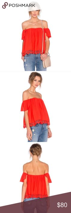 Lovers and Friends life's a beach top. Sz XS. NWT In perfect condition. Sadly, just doesn't fit me. Lovers + Friends Tops Blouses
