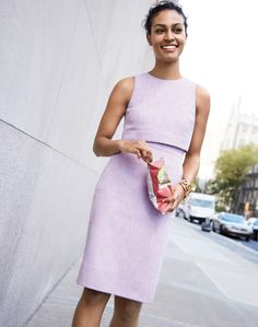 The J.Crew women's Going-Places dress. As in, the corner office or the corner deli.